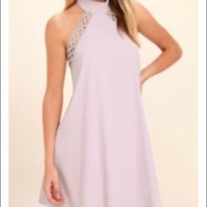 Lulus Any Shape, Sway Or Form Lavender Dress